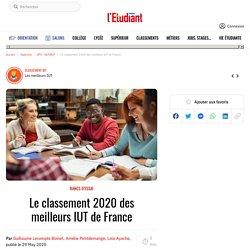 Le classement 2020 des meilleurs IUT de France - L'Etudiant