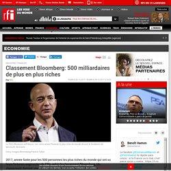 Classement Bloomberg: 500 milliardaires de plus en plus riches - Economie