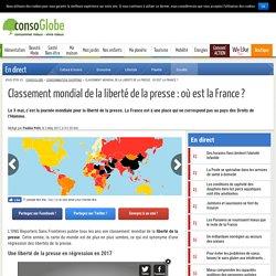 Classement mondial de la liberté de la presse : où est la France ?