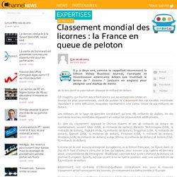 Classement mondial des licornes : la France en queue de peloton