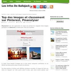 Top des images et classement sur Pinterest, Pinanalyser