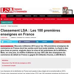 Classement LSA : Les 100 premières enseignes...