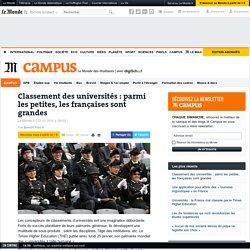 Classement des universités: parmi les petites, les françaises sont grandes