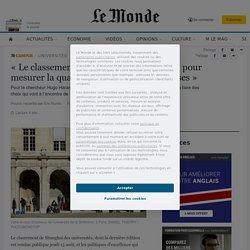 «Le classement de Shanghaï n'est pas fait pour mesurer la qualité des universités françaises»