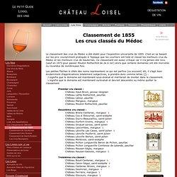 Classement des vins de Bordeaux - Le classement de 1855
