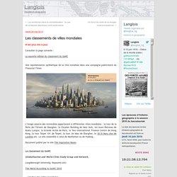 Les classements de villes mondiales
