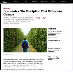 Why Econ Classes Barely Mention Behavioral Economics