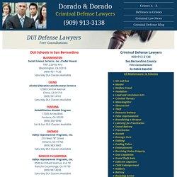 DUI Classes in San Bernardino County
