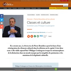 Classes et culture