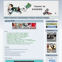 HG 2.0 – Classes de B.DIDIER: