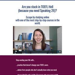 The ESA Method Online TOEFL Classes