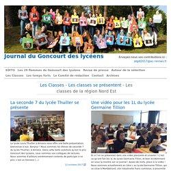 Les classes de la région Nord Est - Journal du Goncourt des lycéens