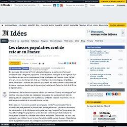 Les classes populaires sont de retour en France