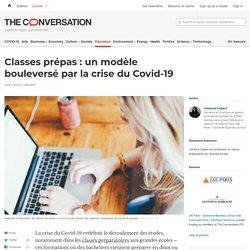 Classes prépas: unmodèle bouleversé parlacrise duCovid-19