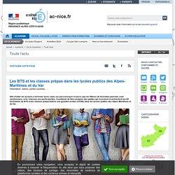 Les BTS et les classes prépas dans les lycées publics des Alpes-Maritimes et du Var