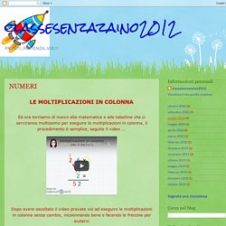 classesenzazaino2012: NUMERI