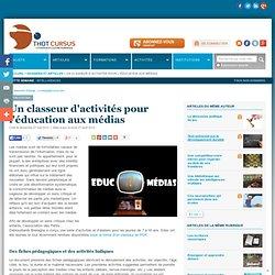 Un classeur d'activités pour l'éducation aux médias