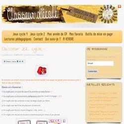 Classeur ZIL cycle 1