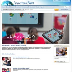 ClassFlow™ — Do More with Your Flipcharts