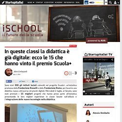 Classi digitali: ecco i 15 progetti che hanno vinto il premio Scuola+