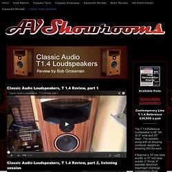 Classic Audio Speakers