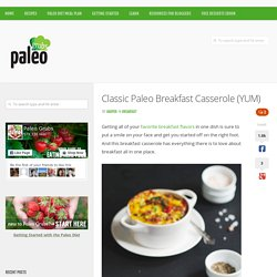 Classic Paleo Breakfast Casserole (YUM)