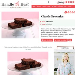 Classic Brownies - Handle the Heat