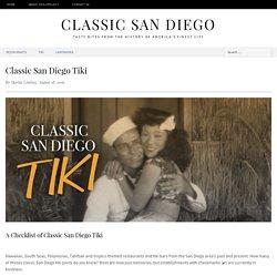 Classic San Diego Tiki - ClassicSanDiego.com