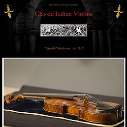 Classic Italian Violins