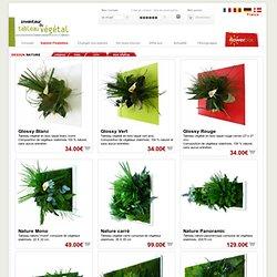 Design floral classic pour jardinier Gamme nature - Flowerbox France