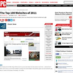 The Top 100 Websites of 2011 - Classic: News