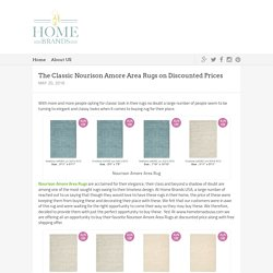 The Classic Nourison Amore Area Rugs on Discounted Prices