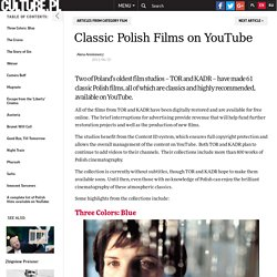 Classic Polish Films on YouTube