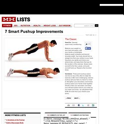 Classic Pushup: Men's Health.com