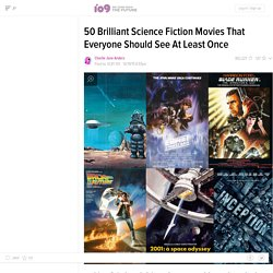 25 classic science fiction movies that everybody must watch