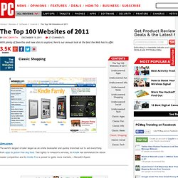 The Top 100 Websites of 2011 - Classic: Shopping