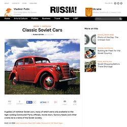 Classic Soviet Cars