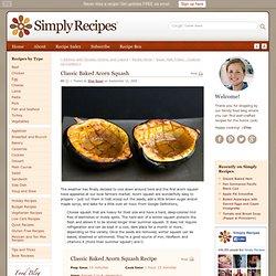Classic Baked Acorn Squash Recipe