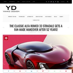 The classic Alfa Romeo 33 Stradale gets a fan-made makeover after 52 years!