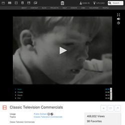 Classic Television Commercials
