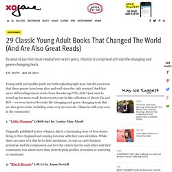 29 Classic Young Adult Books That Changed The World (And Are Also Great Reads) - xoJane