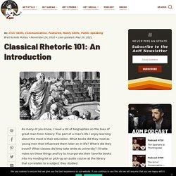 Classical Rhetoric: An Introduction