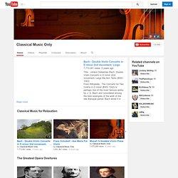 Chaîne de ClassicalMusicOnly