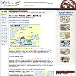 Classical Period, 900 - 290 BC