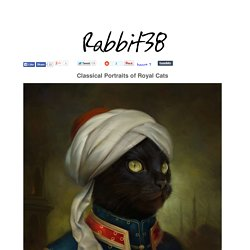 Eldar Zakirov creates Classical Portraits of Royal Cats