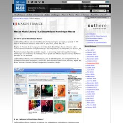 France - Classical Music CD Releases and CD reviews: Live Music Streaming Online