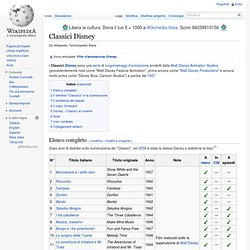 Classici Disney - Wikipedia