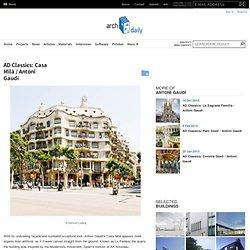 AD Classics: Casa Mila / Antoni Gaudí