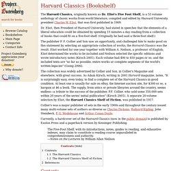 Harvard Classics (Bookshelf)