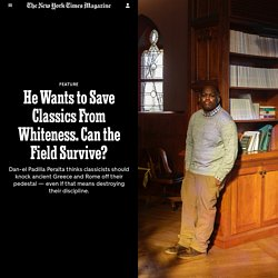He Wants to Save Classics From Whiteness. Can the Field Survive?